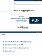A New Bridge in Shipping Finance