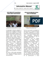 Informativo Mensal ACIA - Agosto 2009