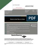Bank Of America Market Link Step Up Notes.doc