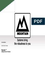 Catalogo Mountain q1 13