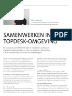 Samenwerken in één TOPdesk-omgeving