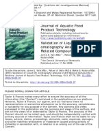 Validation HPLC Analysis ATP_Related Compounds in Sardine_Valls Et Al_2015