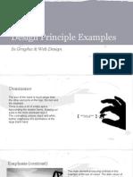 design principle examples thur