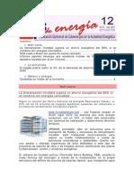 Boletin Clips de Energía 12 Del 2012