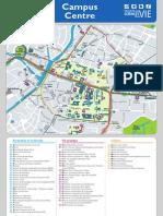 Plan du campus central