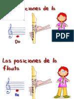 FLAUTA DULCE NOTAS
