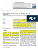 The Variability and Complexity of Sitting Postural Control Are Associated With Discomfort