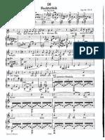 Schubert Nachtstueck D672 Tief