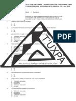Encuesta Para La Evaluación de La Participación Ciudadana en El Programa Comunitario de Mejoramiento Barrial de Cascajal