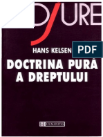 KELSEN_Doctrina Pura a Dreptului