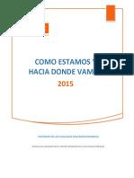 Informe de Actualidad Macroeconomica 2014 y Proyecciones 2015