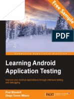 Learning Android Application Testing - Sample Chapter