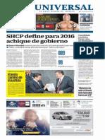 GradoCeroPress Juev 26 2015 Portadas Medios Nacionales