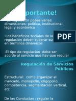 Regulaci+¦n de Servicios P+¦blicos