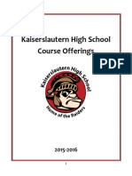 course selection handbook sy1516