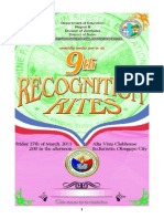 JFK SPED Center 9th Recognition Rites