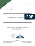 Simple Dynamics in a Vector-Borne Disease Model