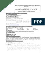 Ácido fluorídrico 71%