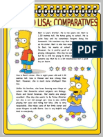 Bart and Lisa Comparatives and Superlatives
