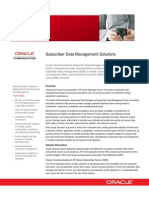 Communications Subscriber Data Management