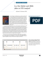 Why Use a Size Marker and Allelic Ladders in Str Analysis