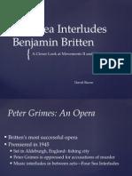 Four Sea Interludes Presentation