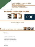 El Diseño de Cocinas en Casas Habitación