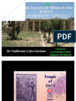 El Templo Funerario del Faraón Seti I en Qurna - Antiguo Egipto