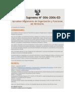 6 Decreto Supremo Nº 006-2006-ED