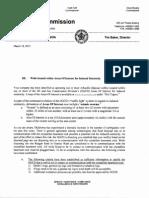 Oklahoma Corporation Commission - Fracking Earthquake Directive