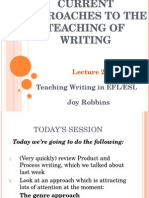 WRITING 2 Genre & Social Approaches to the Teaching of Writing 12.JR.ppt