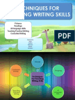 110867043 6 Techniques for Teaching Writing Skills