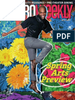Metro Weekly - 03-26-15 - Spring Arts