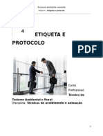 Etiqueta e Protocolo Manual