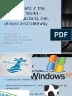 Management in the Computer World – Presentation