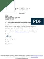 Supplement to DOJ Complaint by DCOC