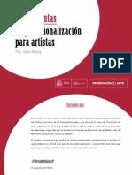 Herramientas Profesionalizacion Artistas Online