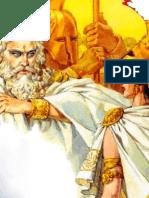 ΟΔΥΣΣΕΙΑ Α - Θεών αγορά, η Αθηνά στην Ιθάκη, Το συμπόσιο των μνηστήρων