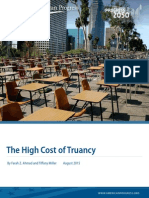 The High Cost of Truancy