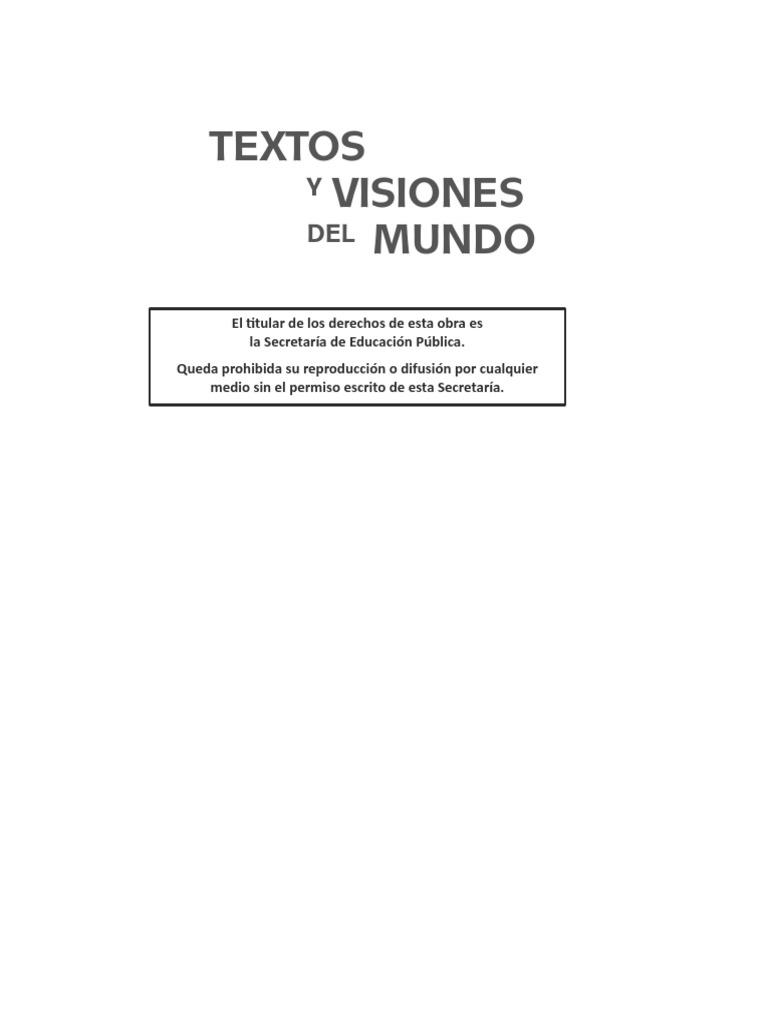 Textos y Visiones Bn Cs