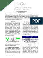 A Novel High Efficient Approach to Input Bridges Tp-080527
