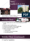mobile clinic- mental health c h a t s
