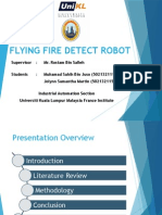 Flying Fire Detection Robot