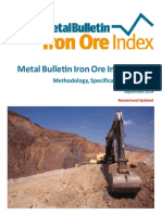 Metal Bulletin Iron Ore Index Methodology Specification and Usage Guide