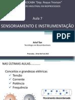 Aula 7 - Sensoriamento e Instrumentação