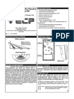 ECP Sensor Plus Digital Sem Fio Digital RF v1.1