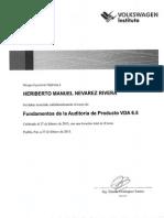 VDA 6.5 Auditoria de Producto