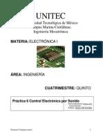Práctica 6 Control Electronico Por Sonido