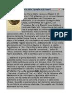 Santa Maria Francesca Dalle 5 Piaghe e Gli Angeli