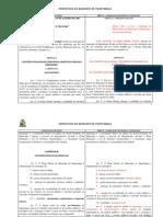 Minuta Projeto de Lei Revisãƒo Do Plano Diretor (Itapetininga) 2014